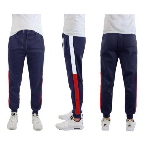 con slim corsa sportivo da rivestimento da fit laterale nuovo uomo Pantaloni sportivi in da pile jogging ARFABq