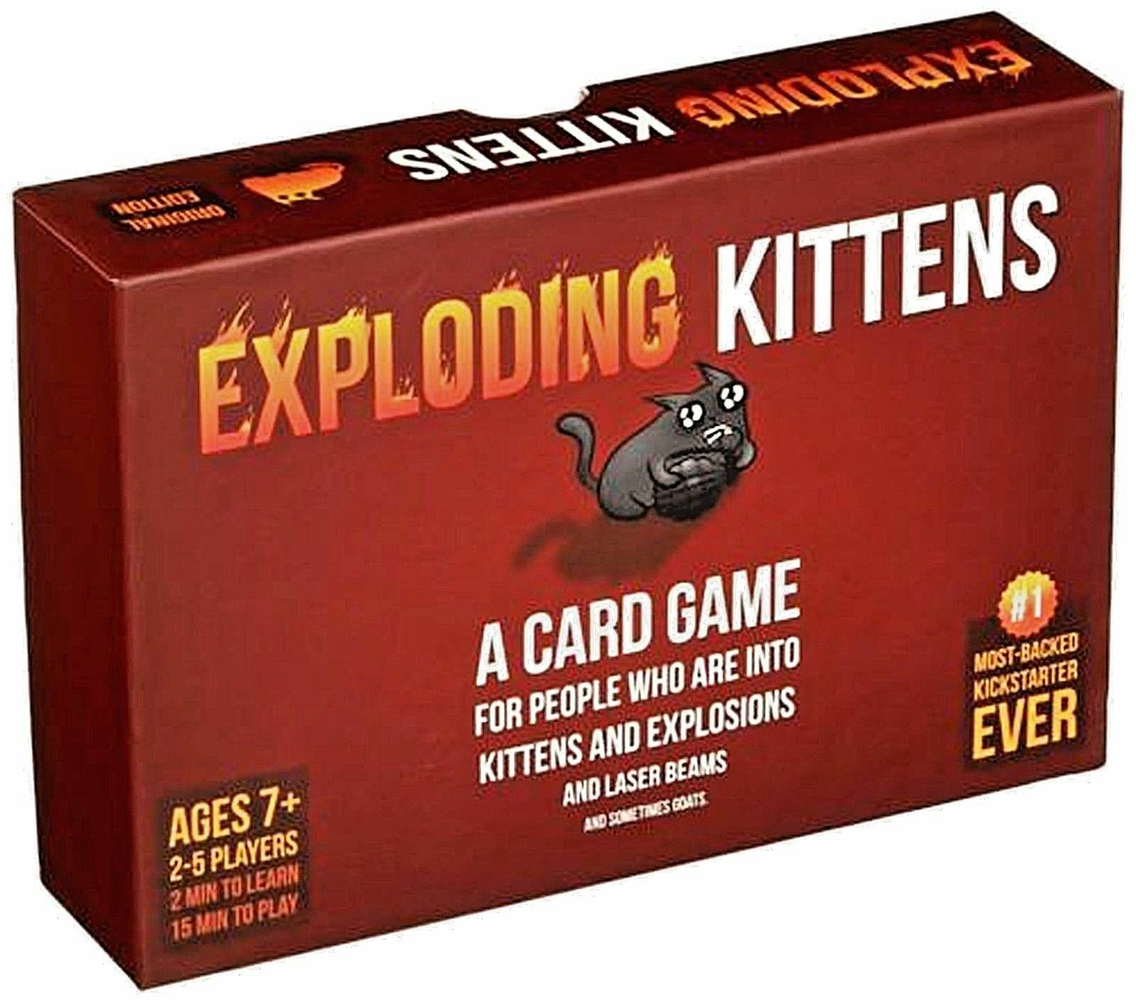 Exploding Kittens Bundle  Original, NSFW, Imploding  FACTORY SEALED NEW