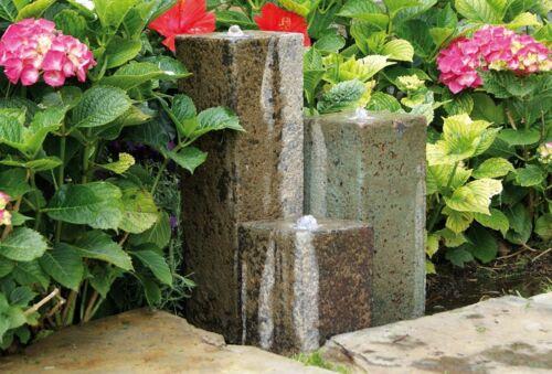 Ubbink Wasserspiel 3er Säulen Terracotta ID 124296