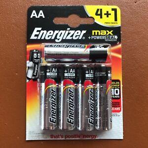 Nuevo-Energizer-AA-Pilas-Alcalinas-PowerSeal-Max-4-1-LR6-MX1500-MN1500-Mignon
