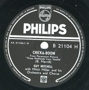 Guy Mitchell: Cloud lucky seven / Chicka-Boom Philips 78 rpm - Deutschland - Guy Mitchell: Cloud lucky seven / Chicka-Boom Philips 78 rpm - Deutschland