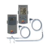 Grey Maverick Remote Smoker Dual 2 Probe Wireless Bbq Thermometer Et-73