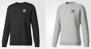 593d9511624e Image is loading Adidas-Originals-Essential-Fleece-Crew-Sweatshirt -BR4197-BR4210-