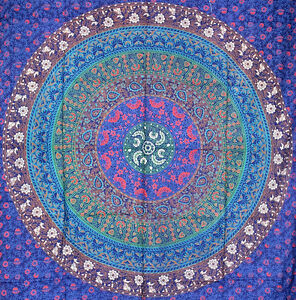 Indian-Hippie-Tapestry-Mandala-Wall-Hanging-Cotton-Bedspread-Bedding-Home-Decor