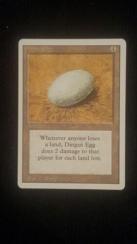 Dingus Egg MTG 3rd edition Revised