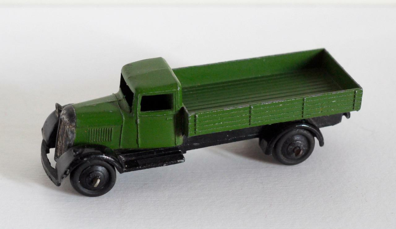 Dinky Toys -25 Series (25a) Vagón-Verde-Tipo 4 Chasis