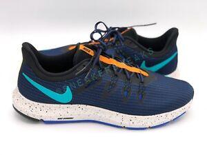 Nike Quest SE Men Low Top Black Blue