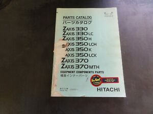 Hitachi-Zaxis-330-330LC-350H-350LCH-350K-Equipment-Components-Parts-Catalog