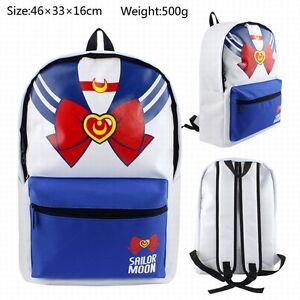 Cosplay Sailor moon Anime Rucksacke Tasche BACK PACK Bag 46x33x16cm Leinwand Neu