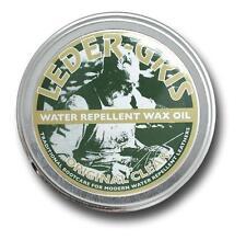 NEW - Leder Gris Wax Oil CLEAR Army Altberg Boot Polish - LARGE 80 gram Tin