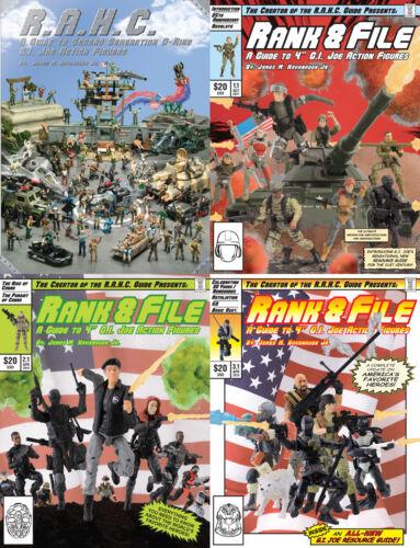 R.A.H.C Joe Rank /& File Reference book Cobra 1.1 2.1 3.1 Guide G.I