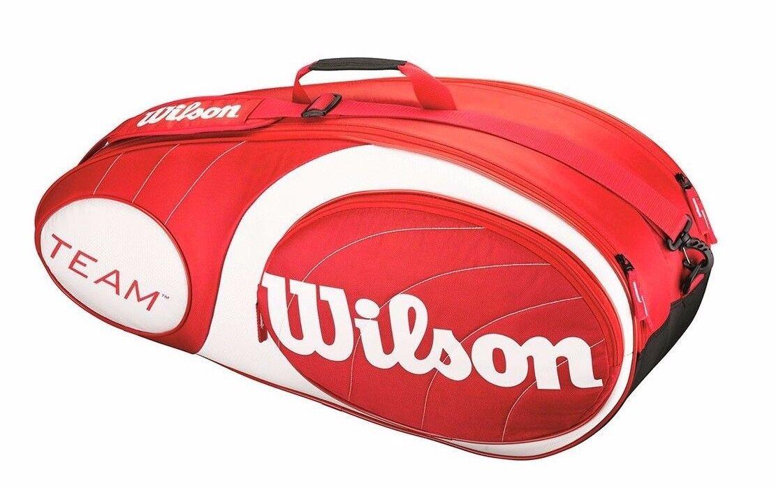 WILSON Team confezione 6 Borsa Borsa Borsa racchetta da tennis db6127