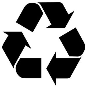recycle symble recycling logo vinyl graphics sticker decals from
