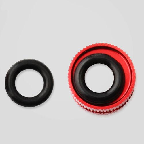 2x Mountain Road Bicycle Bike Presta Valve Nut Vacuum Tire Nozzle Nuts 12*8.5mm