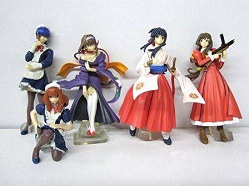 Sakura Wars HGIF Gashapon Figure Set of 5