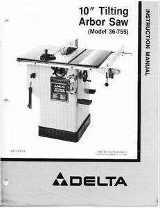 Delta 36 465 Manual