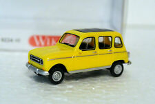 Wiking  22448 1/87 HO Renault R4  W/Sunroof Yellow C-9 NIB