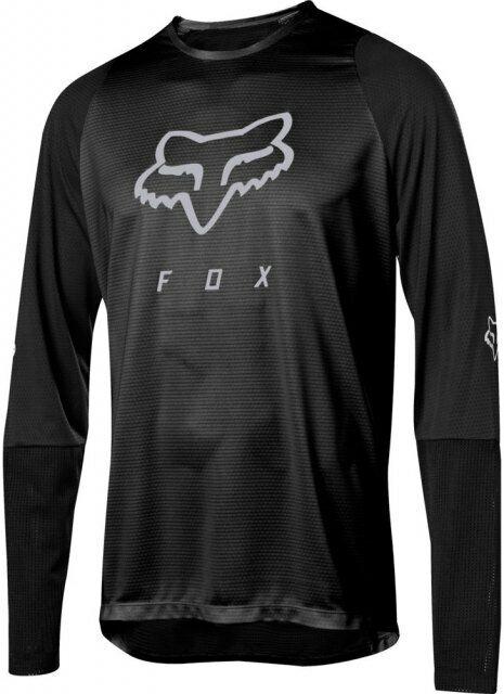 Fox Defend LS Foxhead JERSEY SS19neromanica lunga DOWNHILL MOUNTAIN BIKE