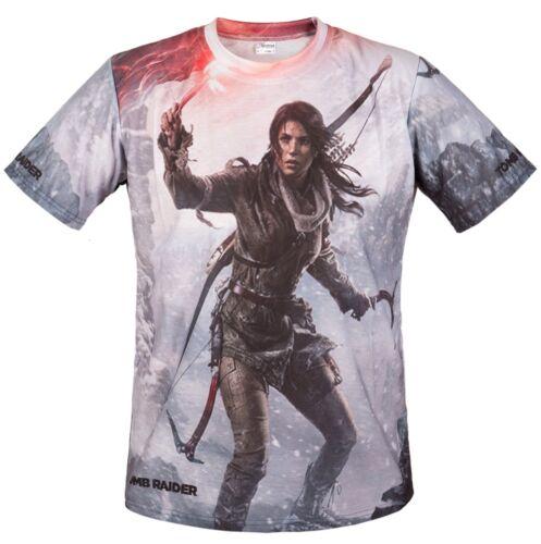 Tomb Raider Game Graphics Cool Fan T-Shirt