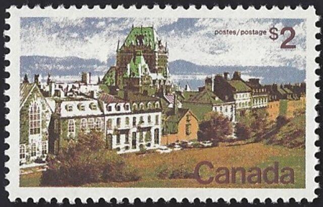 Canada    # 601   Quebec - Landscape   New Issue 1972 Pristine Gum