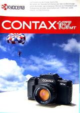 CONTAX 167 MT Prospekt brochure - (0429)