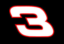 DALE EARNHARDT Sr #3 truck car window Vinyl Decal Sticker nascar DEI Intimidator