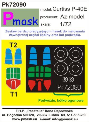 Pmask 1:72 Canopy mask for AZ Model kits
