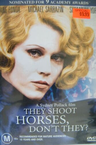 1 of 1 - DVD They Shoot Horses Don't They? Jane Fonda Region 4