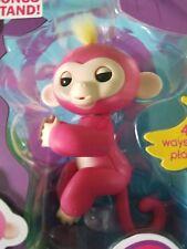 100 Authentic WowWee Fingerlings Bella Fingerling Pink Baby Monkey