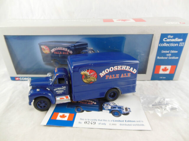 """Corgi US52309 Mack B Box Van Moosehead """"The Canadian Collection III"""""""
