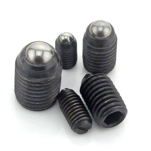 M3 x 6mm Socket Set Screws Spring Ball Point Grub Screws High Tensile Grade 12.9
