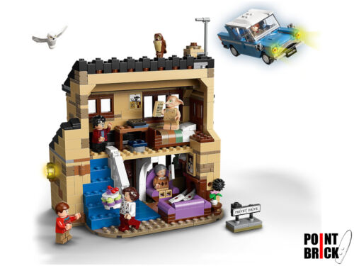 LEGO 75968 HARRY POTTER Privet Drive, 4