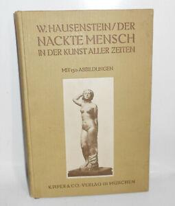 W.Hausenstein - Der Nackte Mensch in der Kunst aller Zeiten 1913 (B4