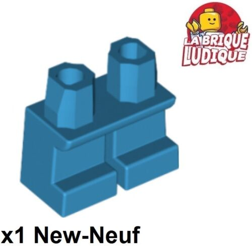 Lego 1x short leg child legs shorts dark azure//dark azure 41879 new
