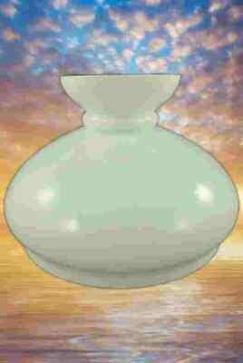 5 cm Petro Abat-jour verre Petroleum parapluie blanc Vesta d.9 Abat-jour