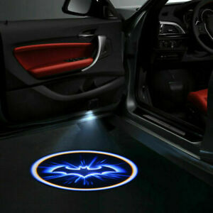 2PCS-Inalambrico-LED-Luz-de-Proyector-de-sombra-de-Batman-de-Puerta-de-Coche-Logo-Laser-Lampara-de