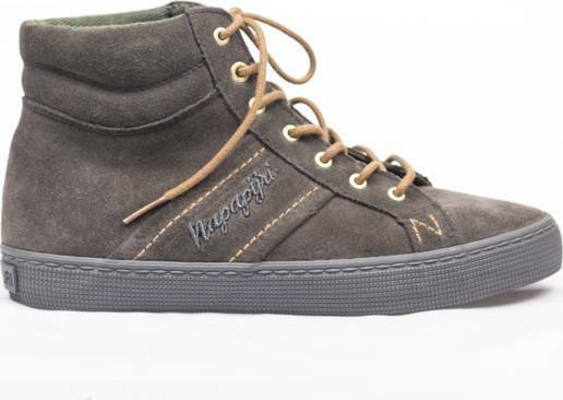 NAPAPIJRI-Boot Ellen in Grey Pelle Scamosciata Alto Top's Grey in grigio Taglia EU 40 NH07 71 3f9473