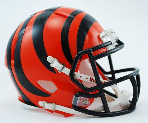 Cincinatti Bengals Replica Speed Mini Helmet Riddell, NFL Football Helm 1 2 ,