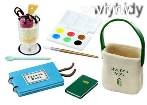 Miniatures  Stationery Pencil Cafe  Set #8 1 pc only Re-ment    ==