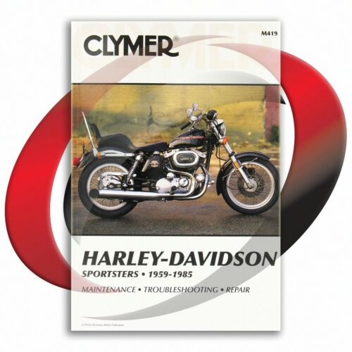 1970-1980 Harley Davidson XLCH Sportster Repair Manual Clymer M419 ...