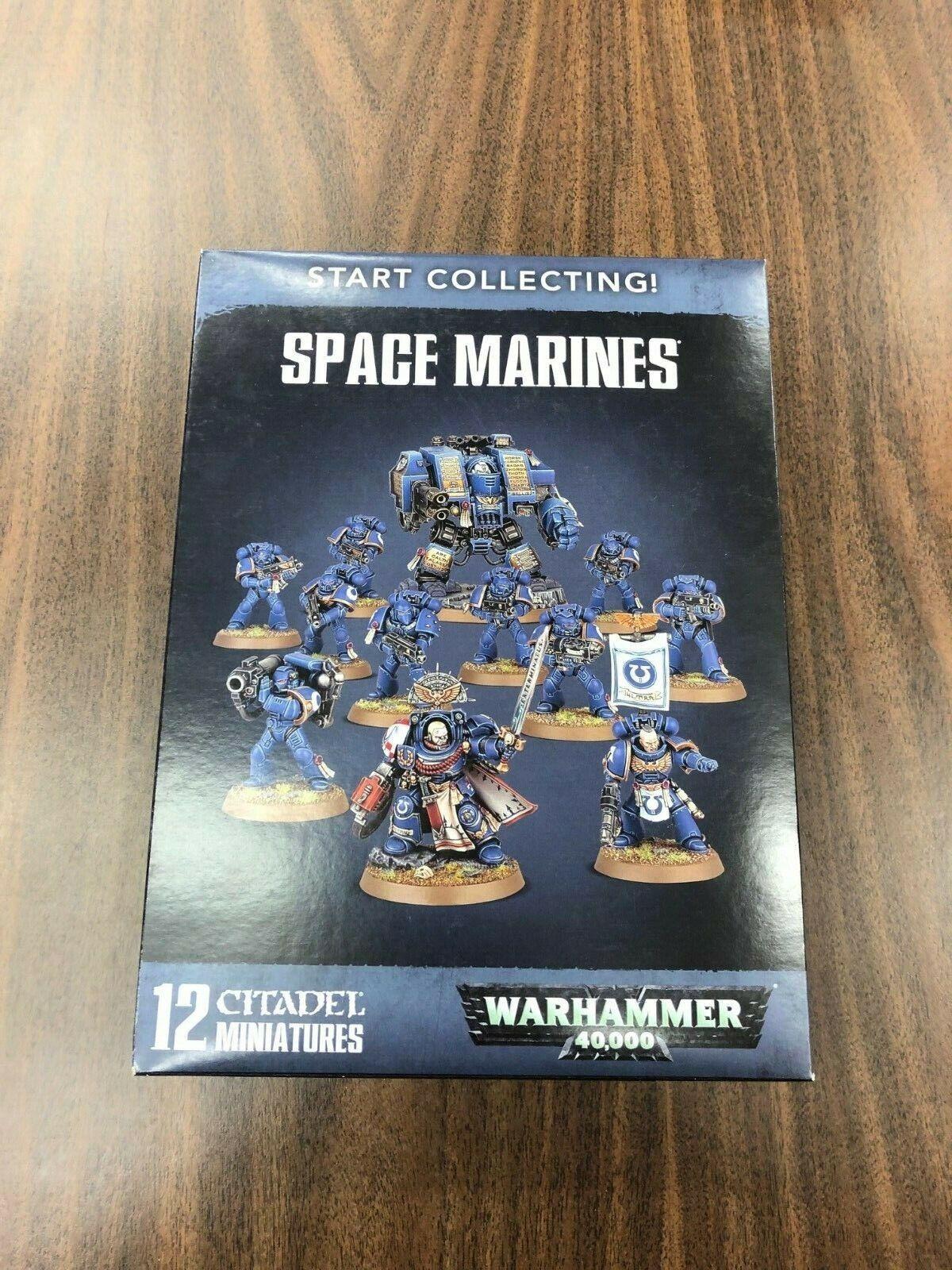 Warhammer 40,000 Space Marines Start Collecting