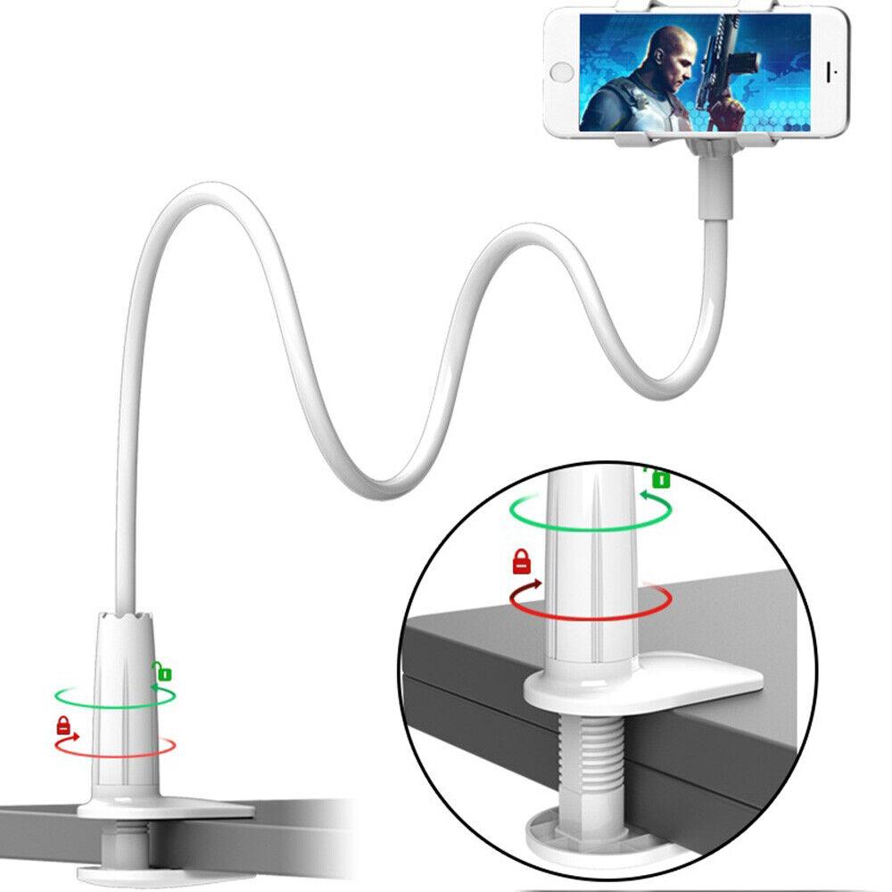 Phone Stand 360° Gooseneck Flexible Long Arm Clip Holder Mo