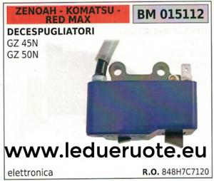 RED MAX BM015062 BOBINA ELETTRONICA ZENOAH KOMATSU GZ 30N