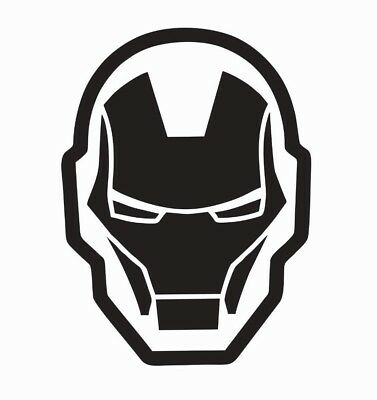 Iron Man Super Hero Vinyl Die Cut Car Decal Sticker FREE SHIPPING