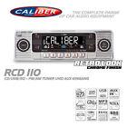 Caliber RCD110 Retro Autoradio Classic Oldtimer USB/SD/CD/MP3/Aux-In B-Ware