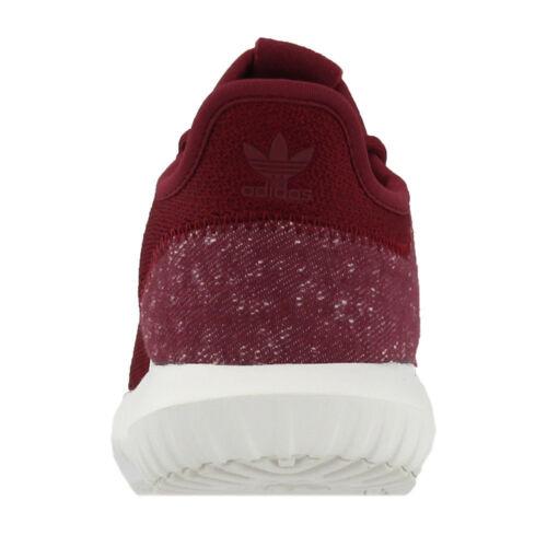 Adidas Tubular shadow J junior Kids/'s unisex BZ0334 sneakers dark red burgundy