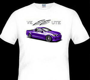 HOLDEN-VE-HSV-SS-SSV-UTE-QUALITY-WHITE-TSHIRT-8-CAR-COLOURS-BIG-FIT