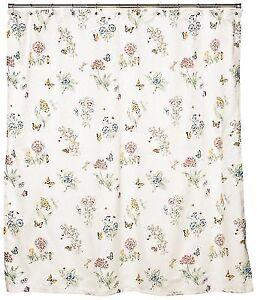 Lenox Butterfly Meadow Shower Curtain For Sale Online