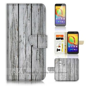 ( For Telstra 4GX Premium ) Case Cover P21384 Wood Pattern