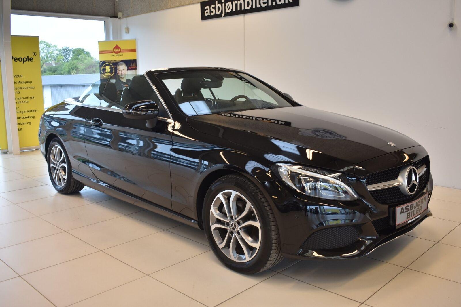 Mercedes C200 2,0 Cabriolet aut. 2d - 549.900 kr.